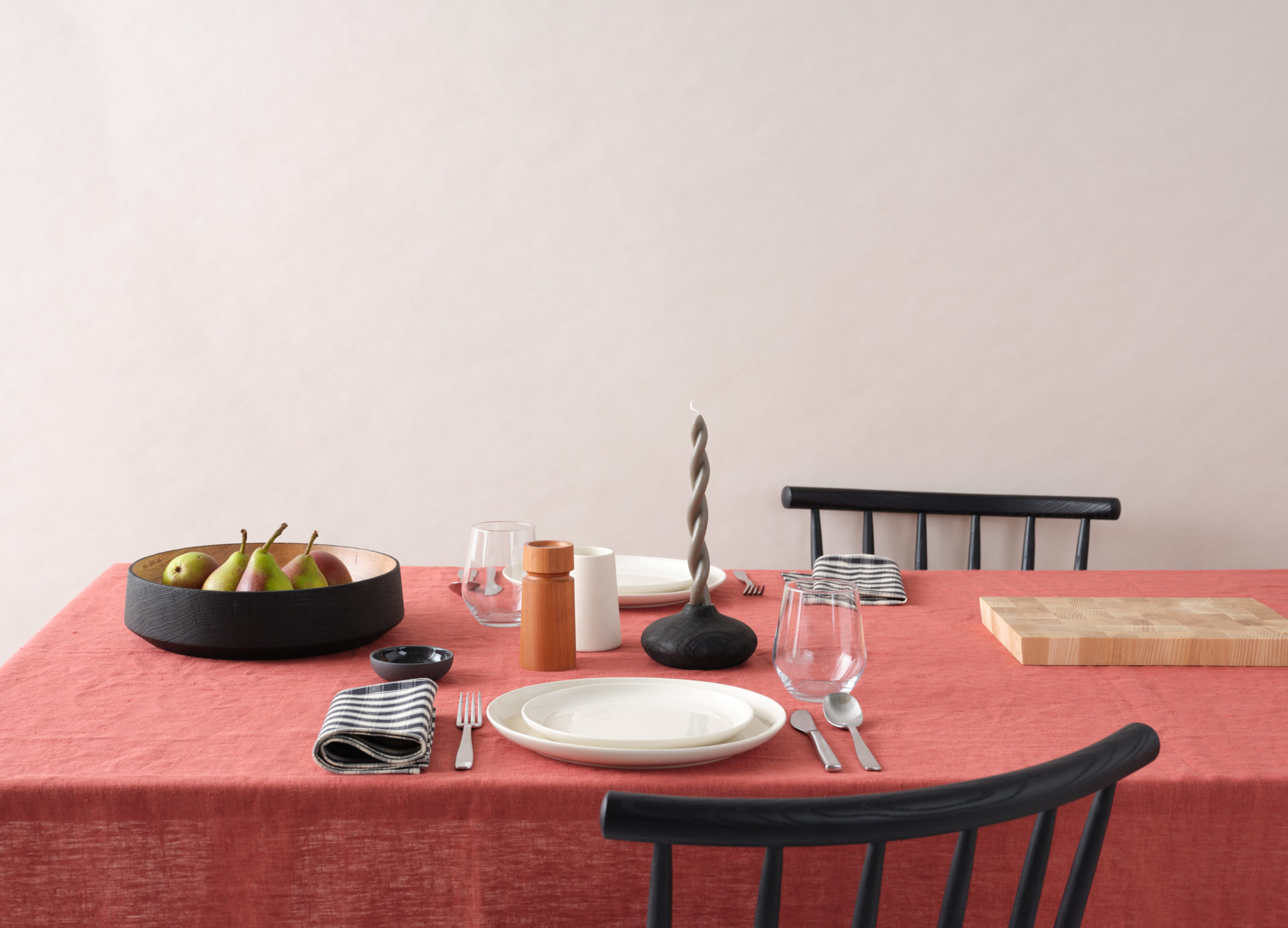 Natural Home Table Setting