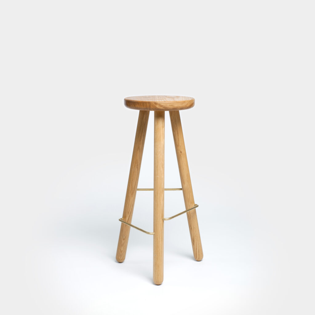 Bar Stool One Oak