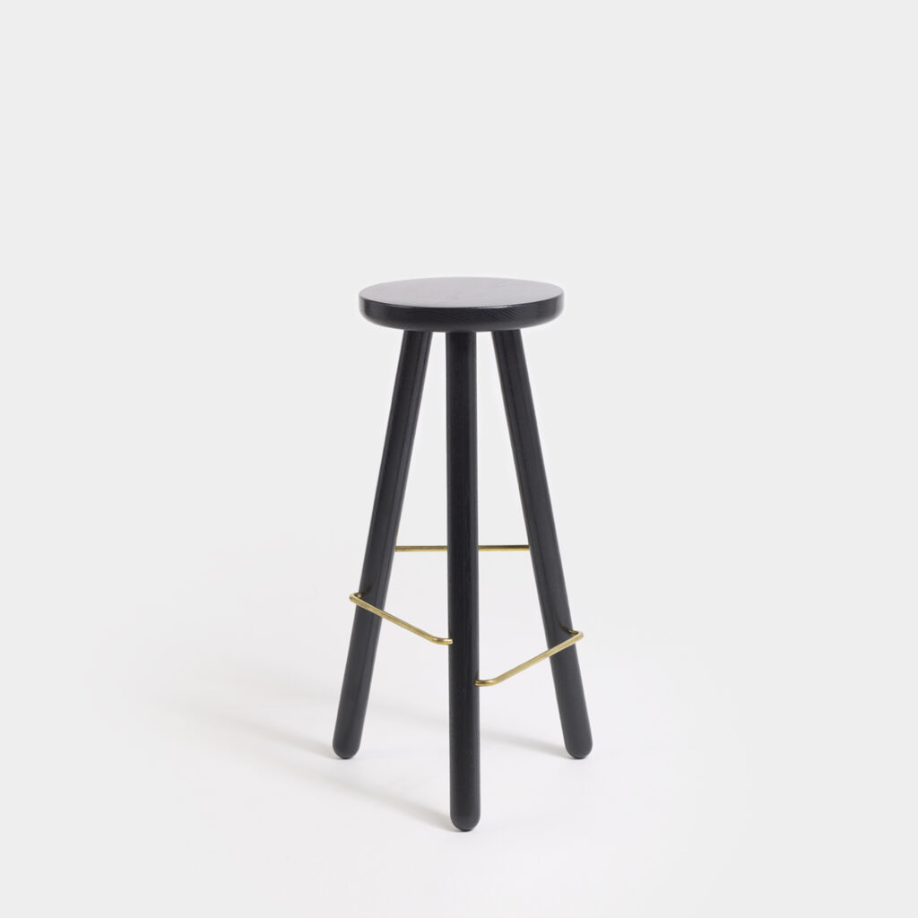 Bar Stool One Black