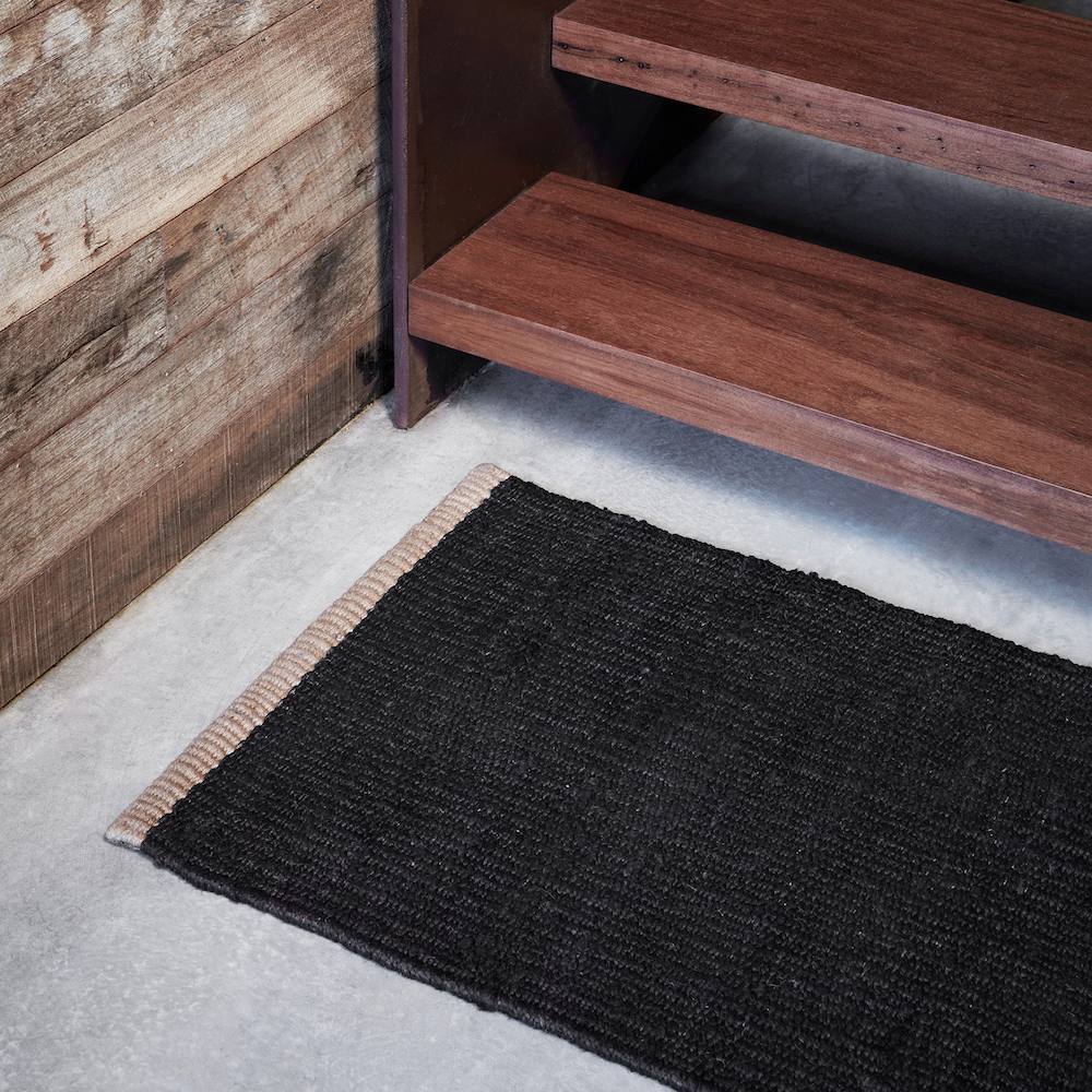 Another Country Nest Entrance Mat Charcoal Insitu 2