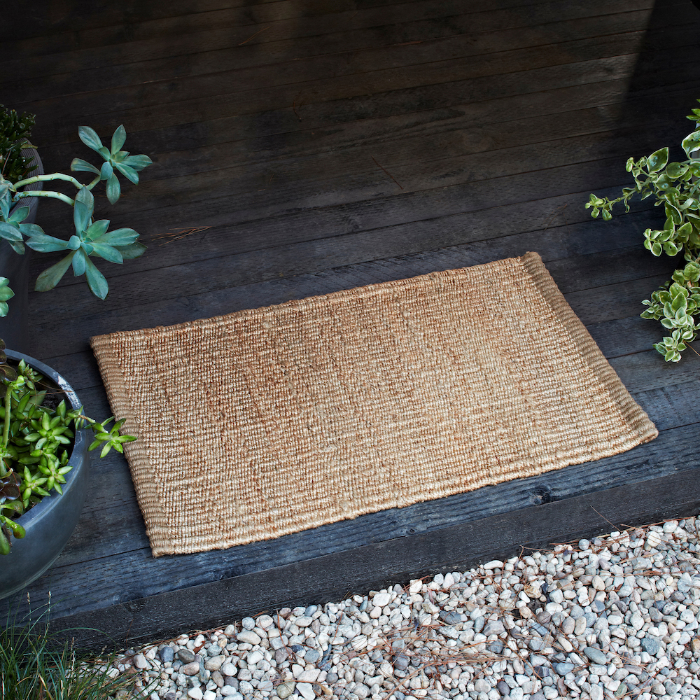 Another Country Nest Entrance Mat Natural Insitu 3