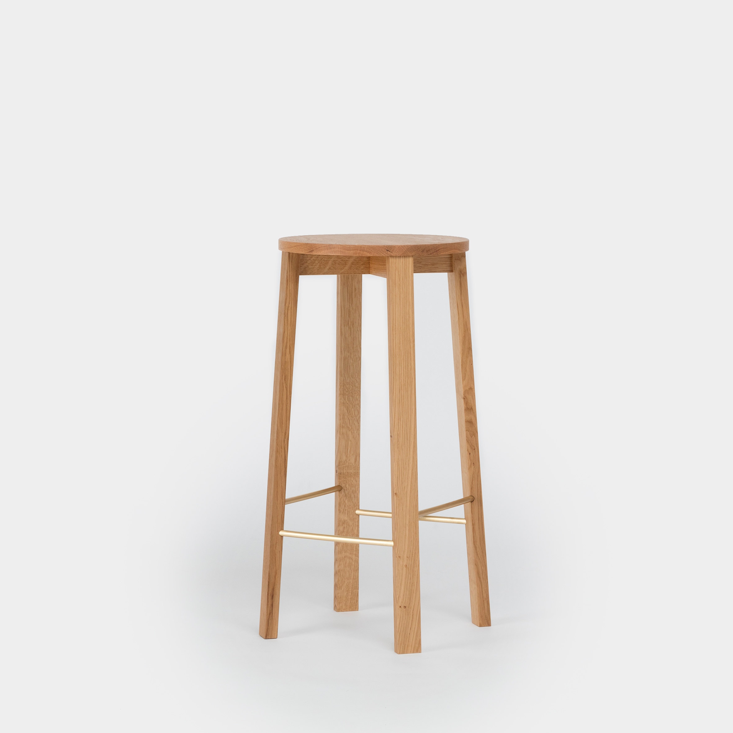 Picture of: Modern Oak Bar Stool By Another Country
