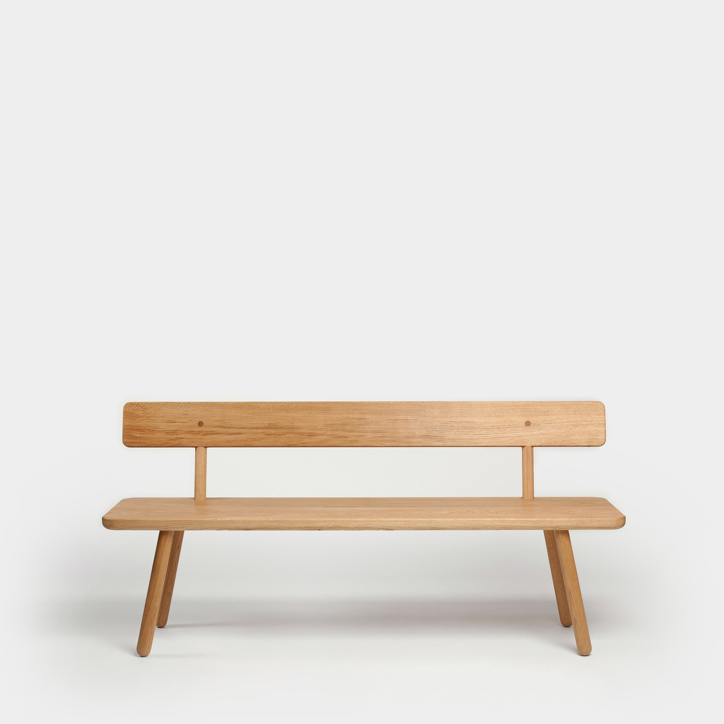 Red Oak Kitchen Table, Bench Back One Oak Series One Furniture Another Country
