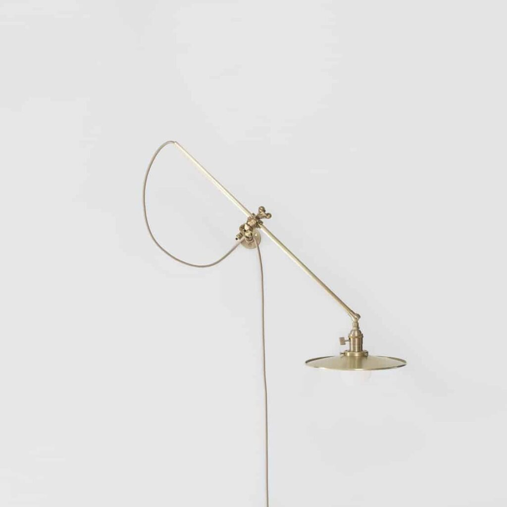 Brass Wall Lamp by Workstead | Another Country