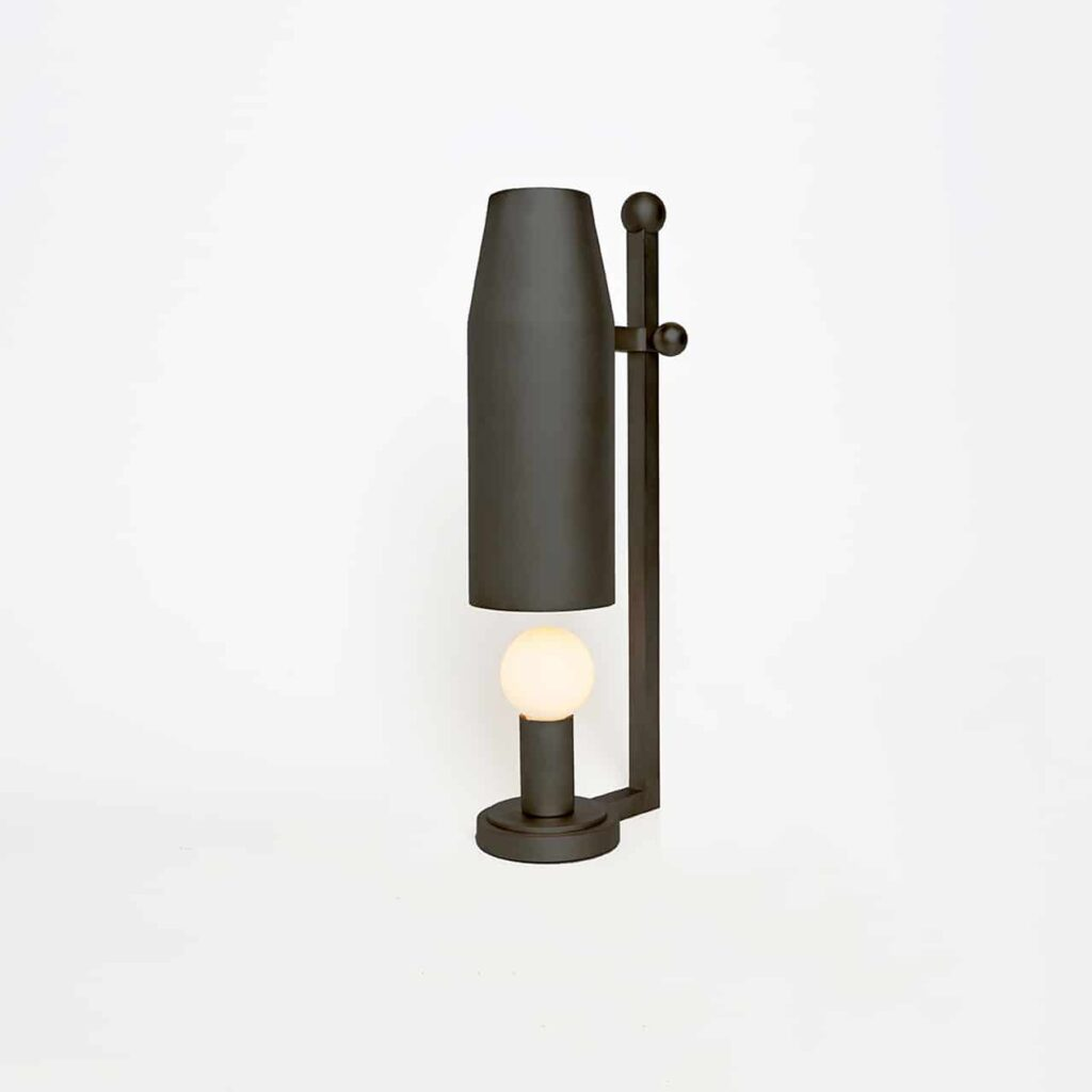 Chamber Table Lamp Up Bronze by Workstead
