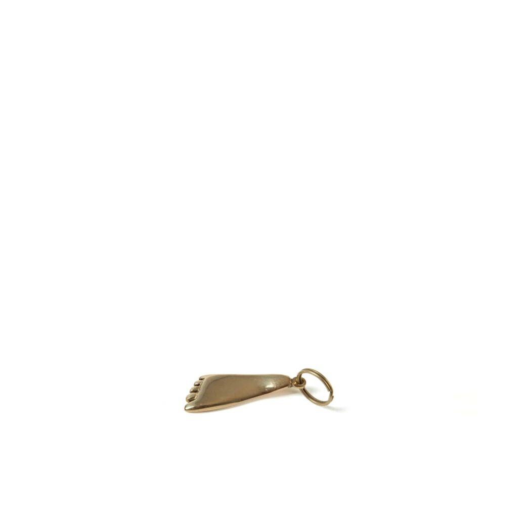 Carl Aubock Brass Foot Keyring