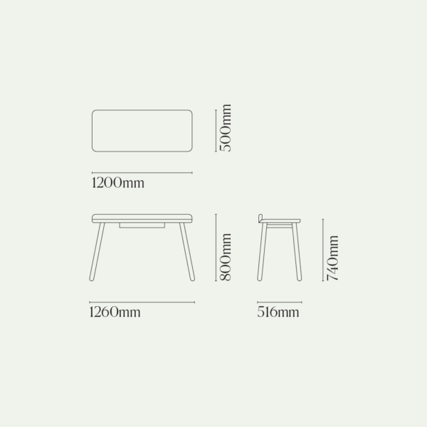 Desk One Diagram