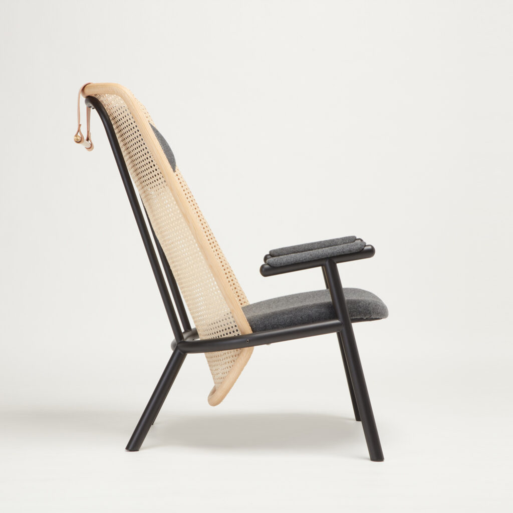 Fold Chair Side View by Another Country