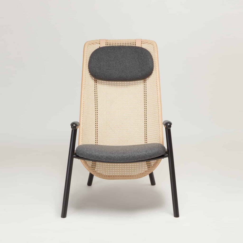 Fold Chair Front View by Another Country