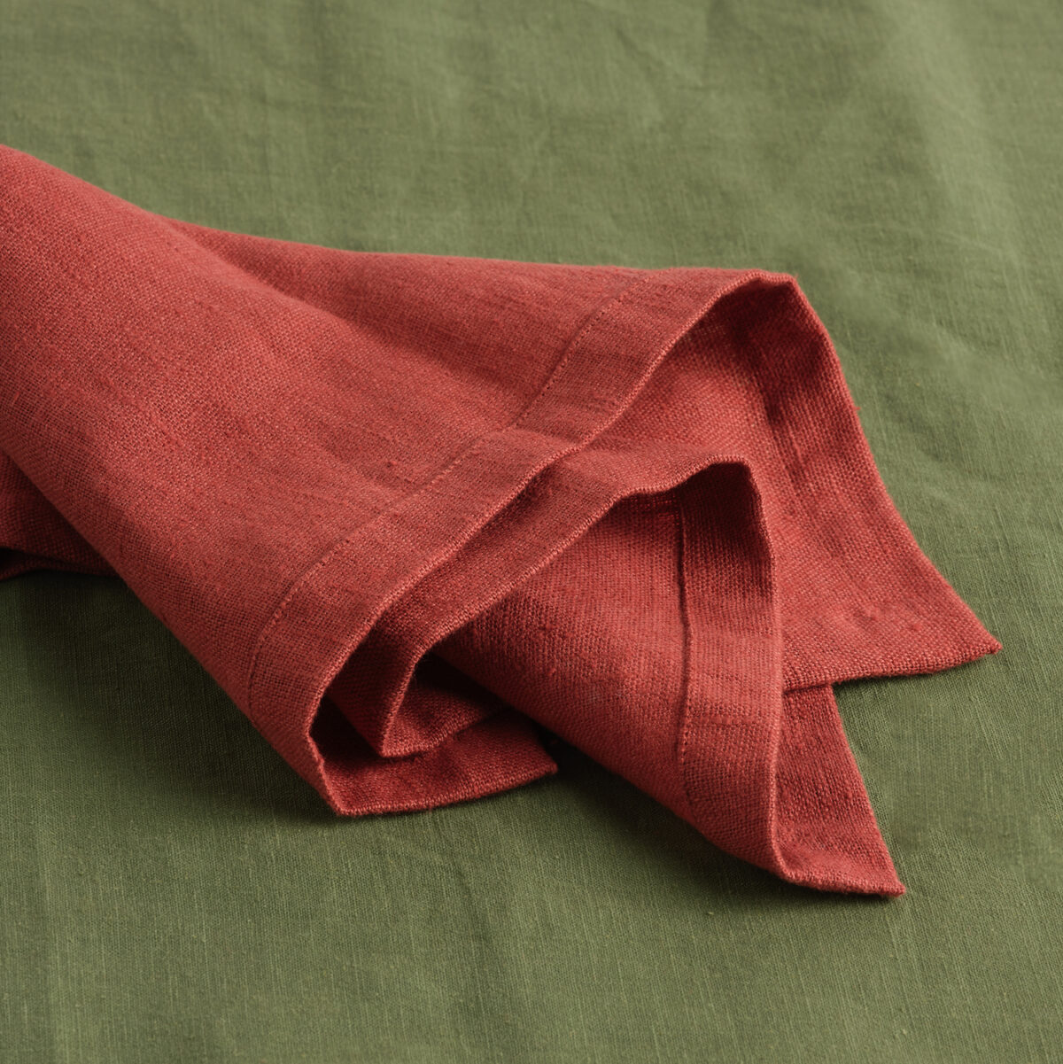 French Linen Rust Napkin