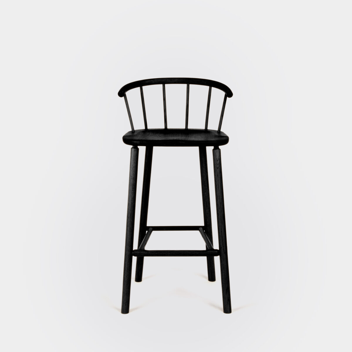 Hardy Bar Stool Black