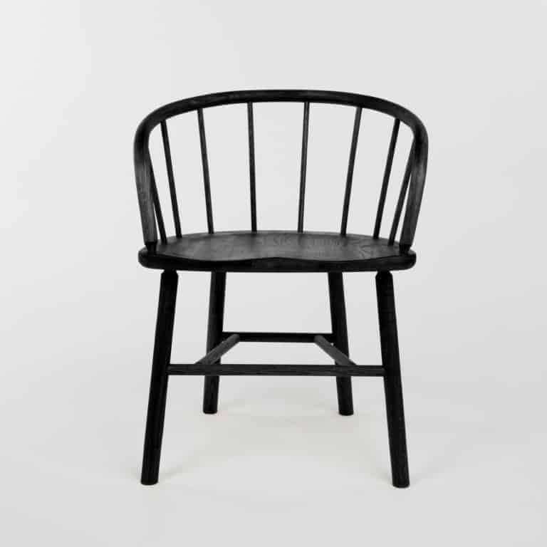 Black Hardy Carver Chair by Another Country
