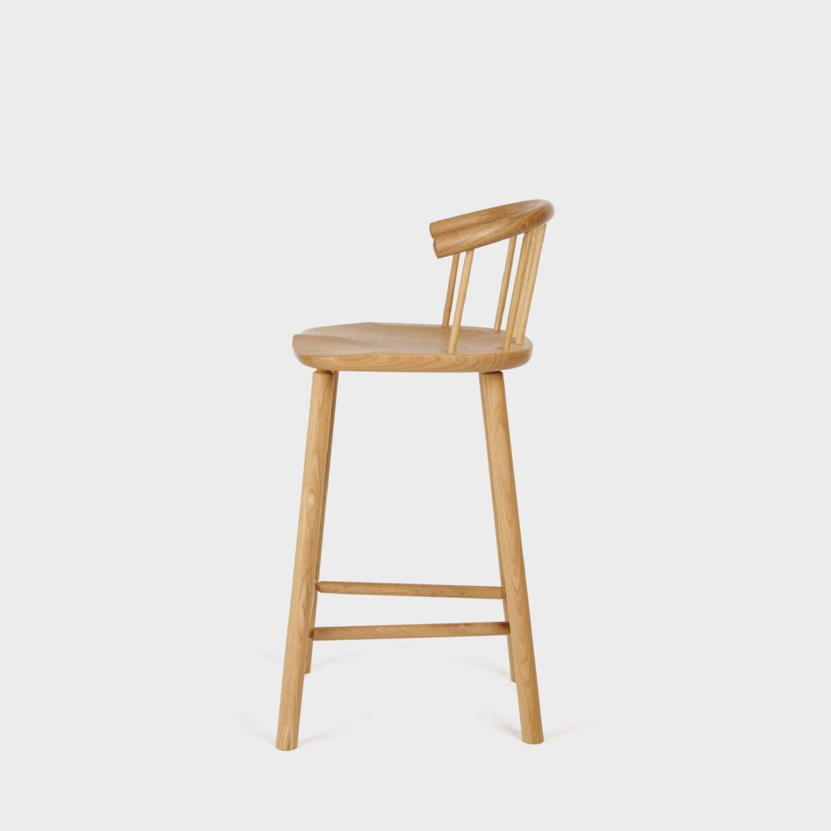Hardy Bar Stool Oak By Another Country