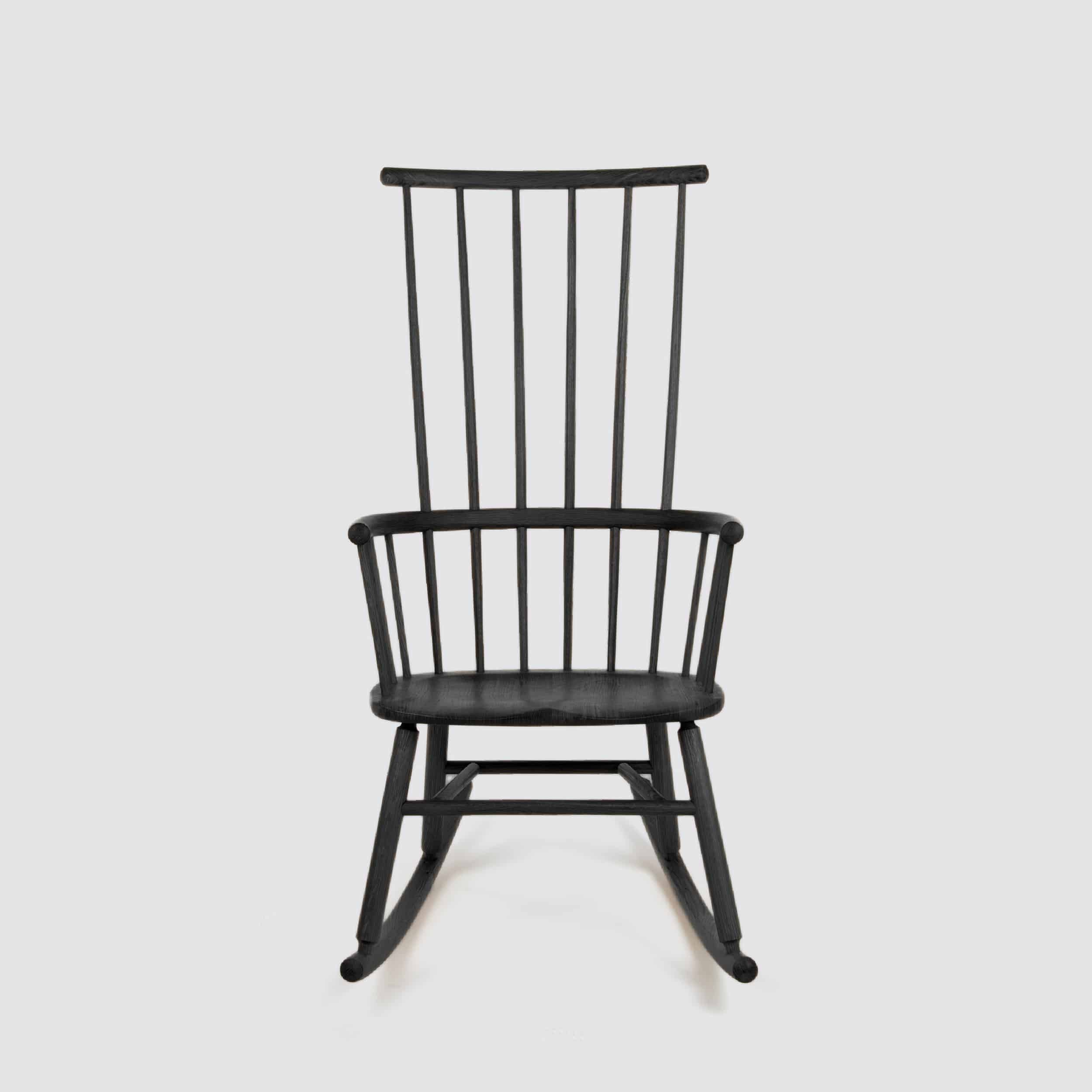 Black Hardy Rocking Chair by Another Country