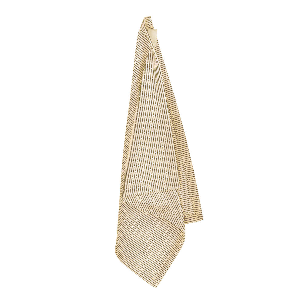 This reusable Kitchen & Wash cloth, in pure organic cotton, will quickly become an essential companion in your daily routine. 35 x 30cm. This is the stone khaki colour.