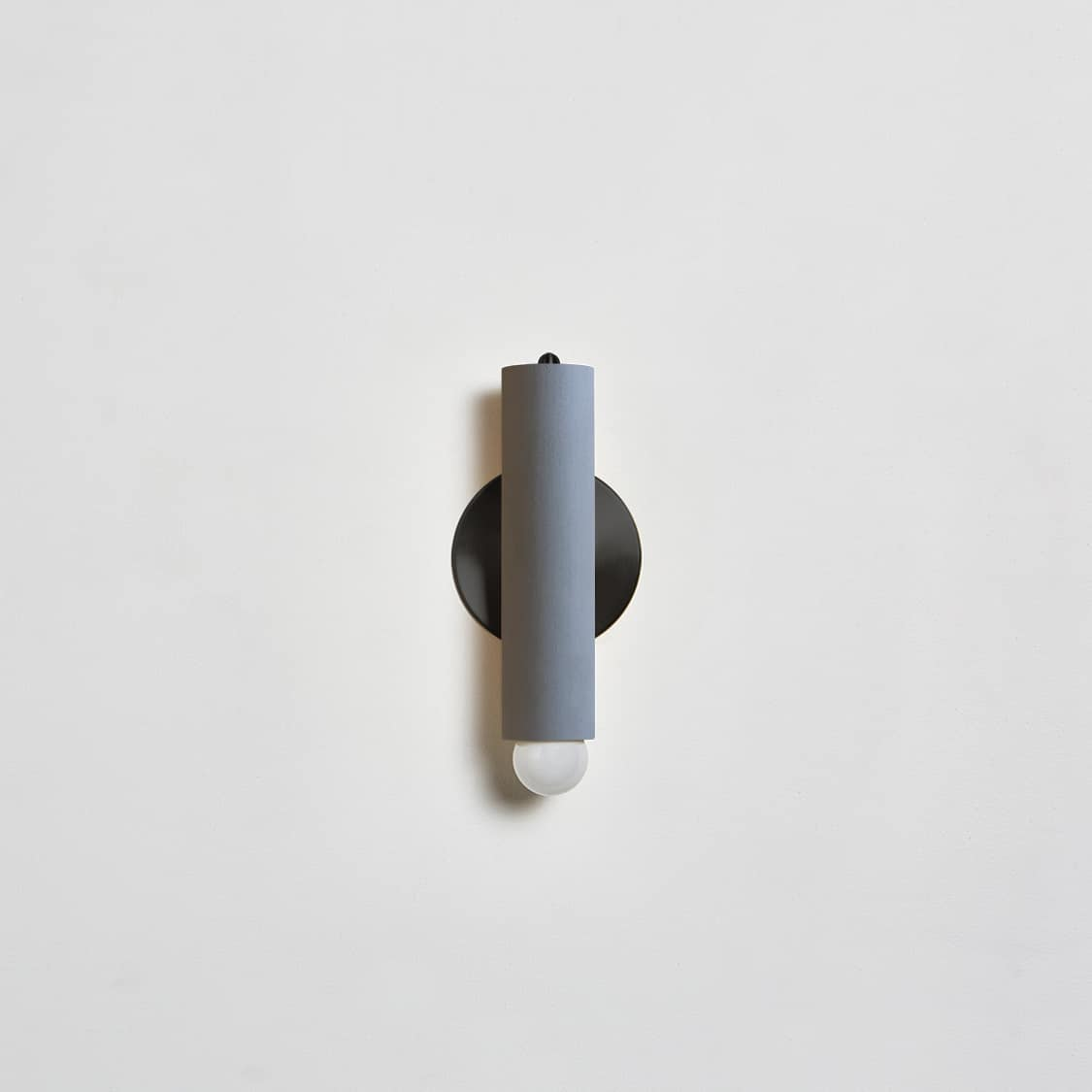 Lodge Sconce_Painted_Off_Straight_Gray-Blackened Brass