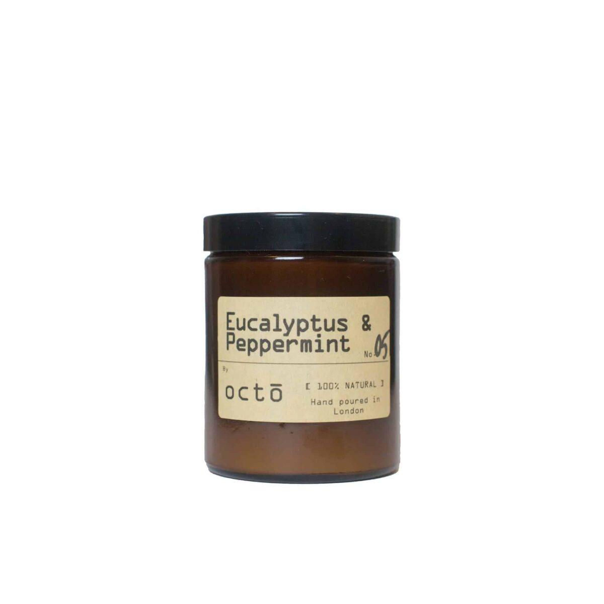 Octo_Candle_Eucalyptus_Peppermint