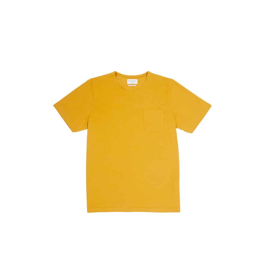 Oliver Spencer – Another Country-Comfort-Tee-York-Ochre5-web ready