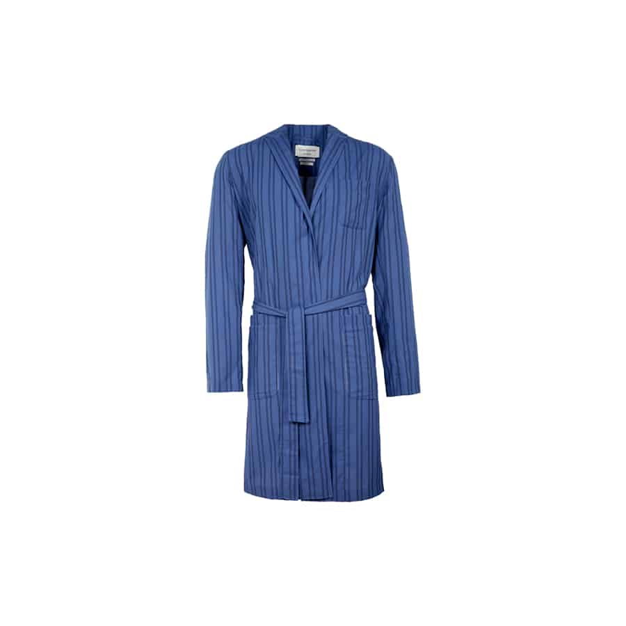 Oliver Spencer – Another Country-Dressing-Gown-Medway-Blue5-web ready