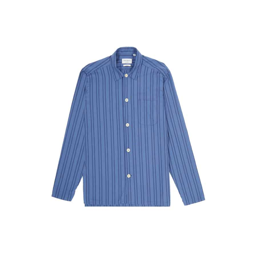 Oliver Spencer – Another Country-Pyjama-Shirt-Medway-Blue5-web ready