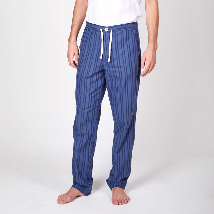 Oliver Spencer – Another Country-Pyjama-Trouser-Farrow-Navy1-web ready