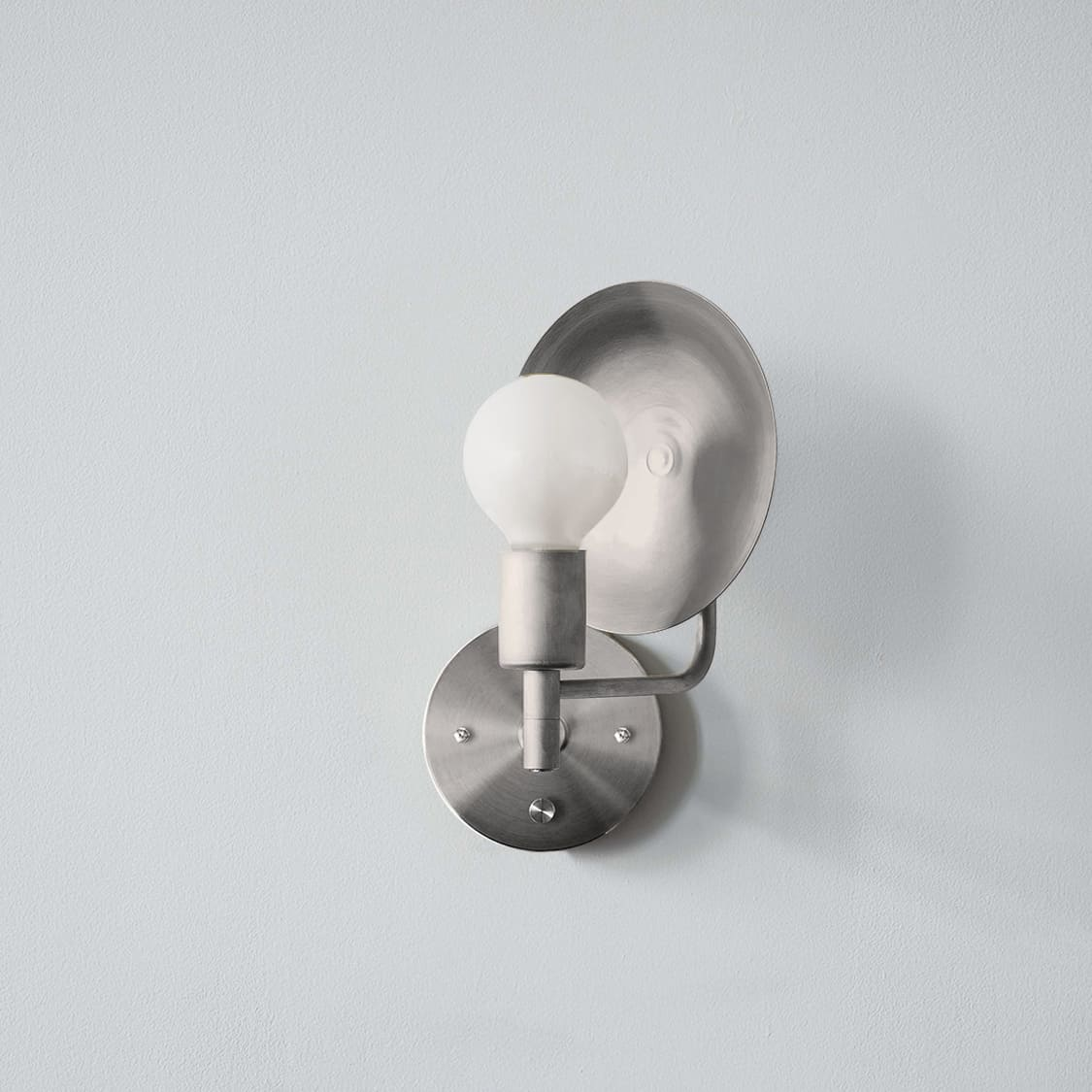 Orbit Sconce Hardwired_Angle_Nickel