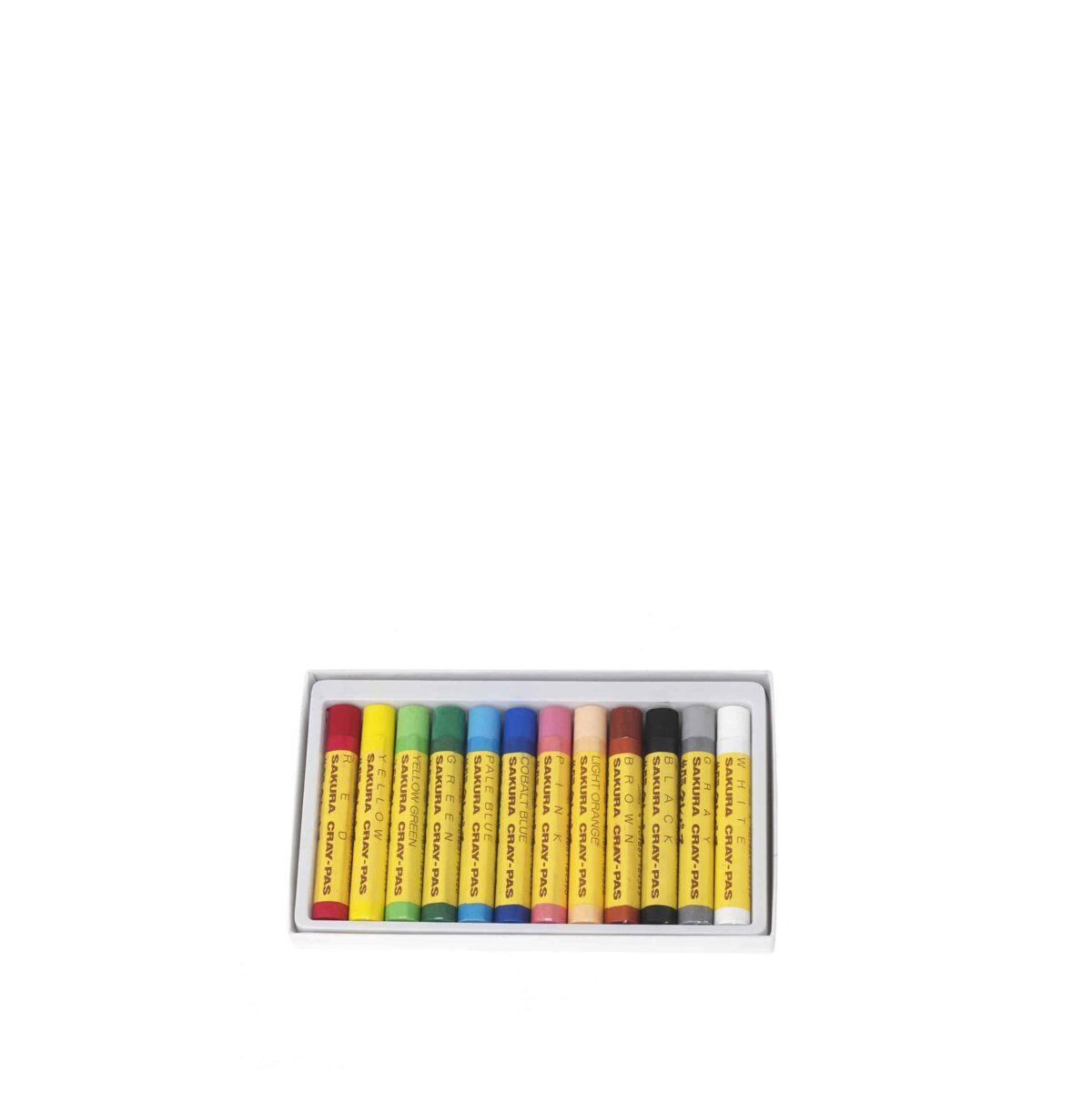 Sakura Crayons Inside