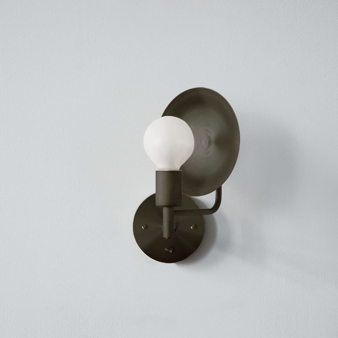 Sconce Hardwired_Angle_Bronze