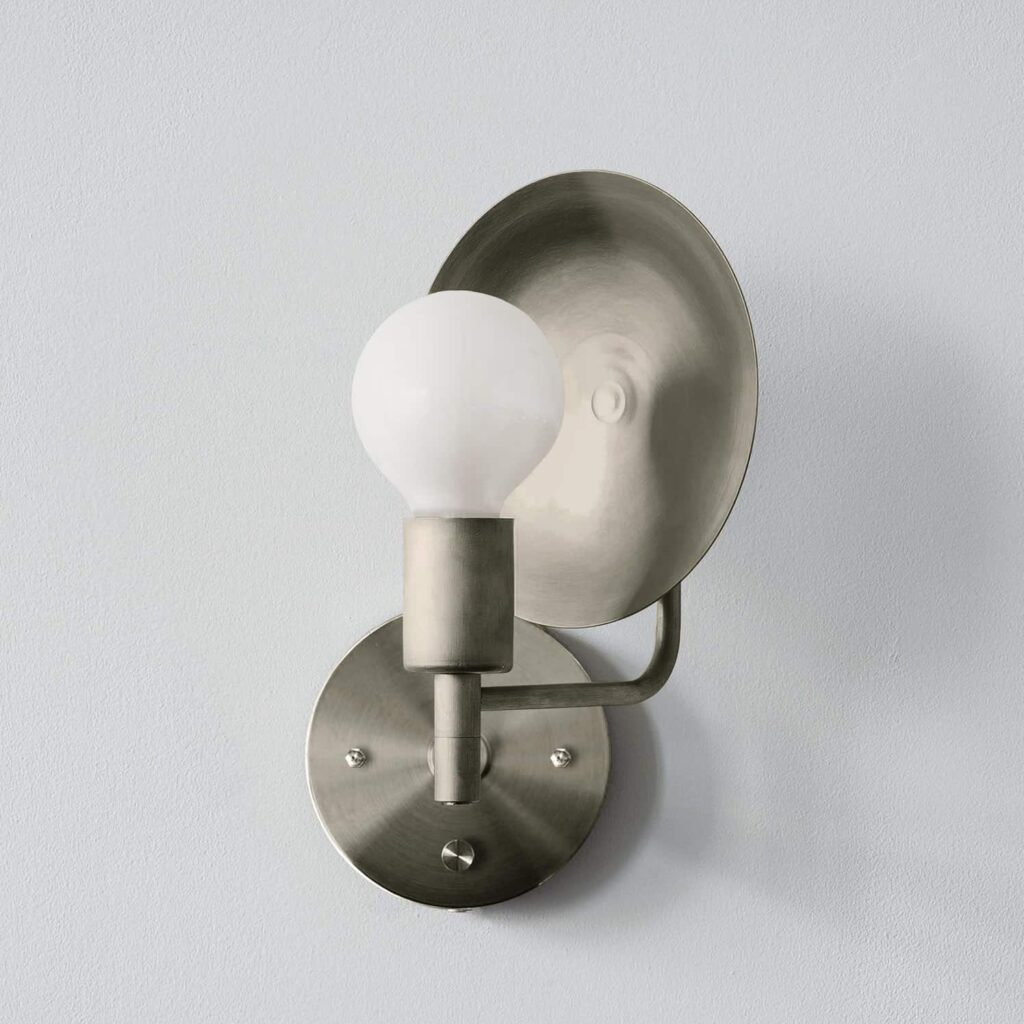 Workstead Nickel Orbit Sconce