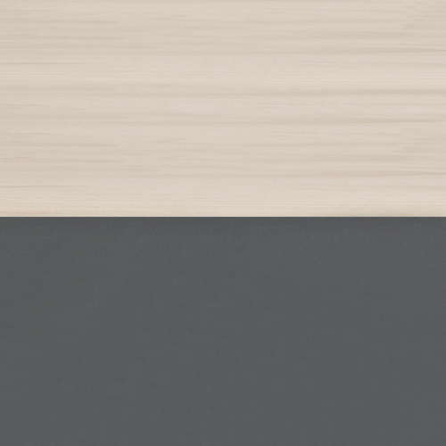 Solid Beech with Grey Lacquer