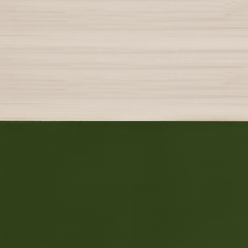 Solid Beech / Oxford Green