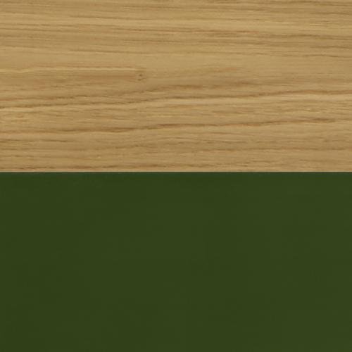 Solid Oak / Oxford Green