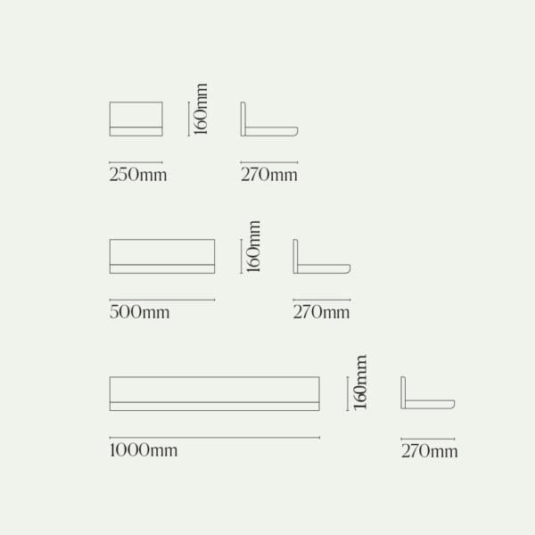 Shelf One Diagram