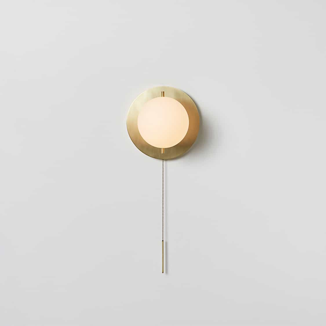 Signal-Sconce_Hewn-Brass_Front_On