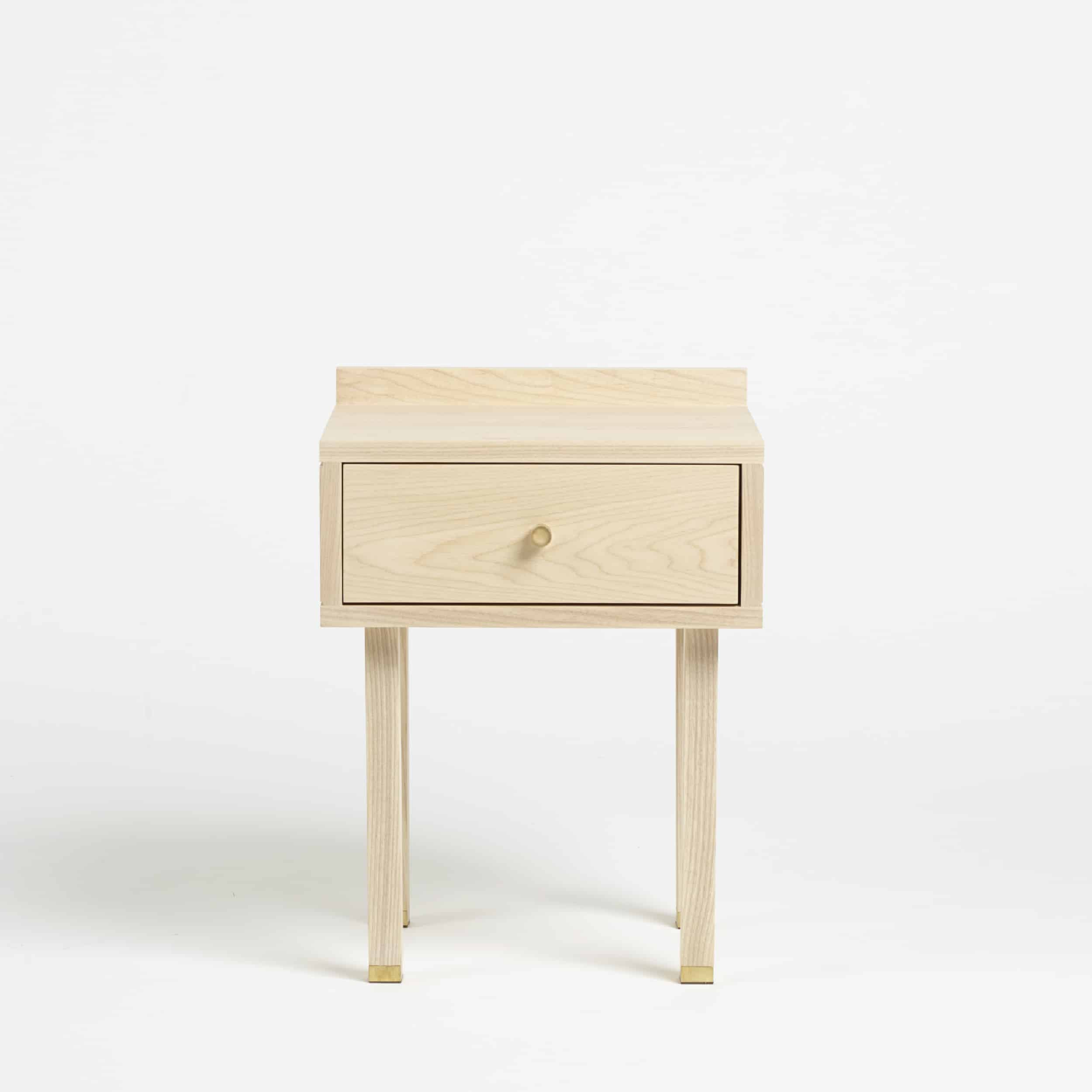 Solid Ash Bedside Table by Another Country
