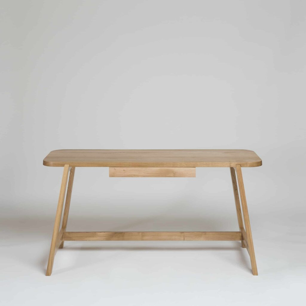 Modern Oak Desk by Another Country