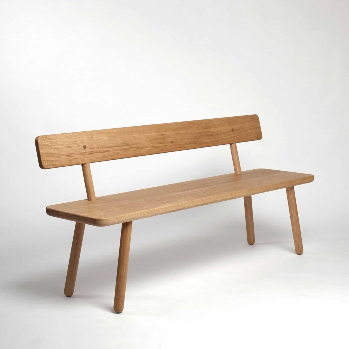 Awe Inspiring Bench Back One Black Spiritservingveterans Wood Chair Design Ideas Spiritservingveteransorg