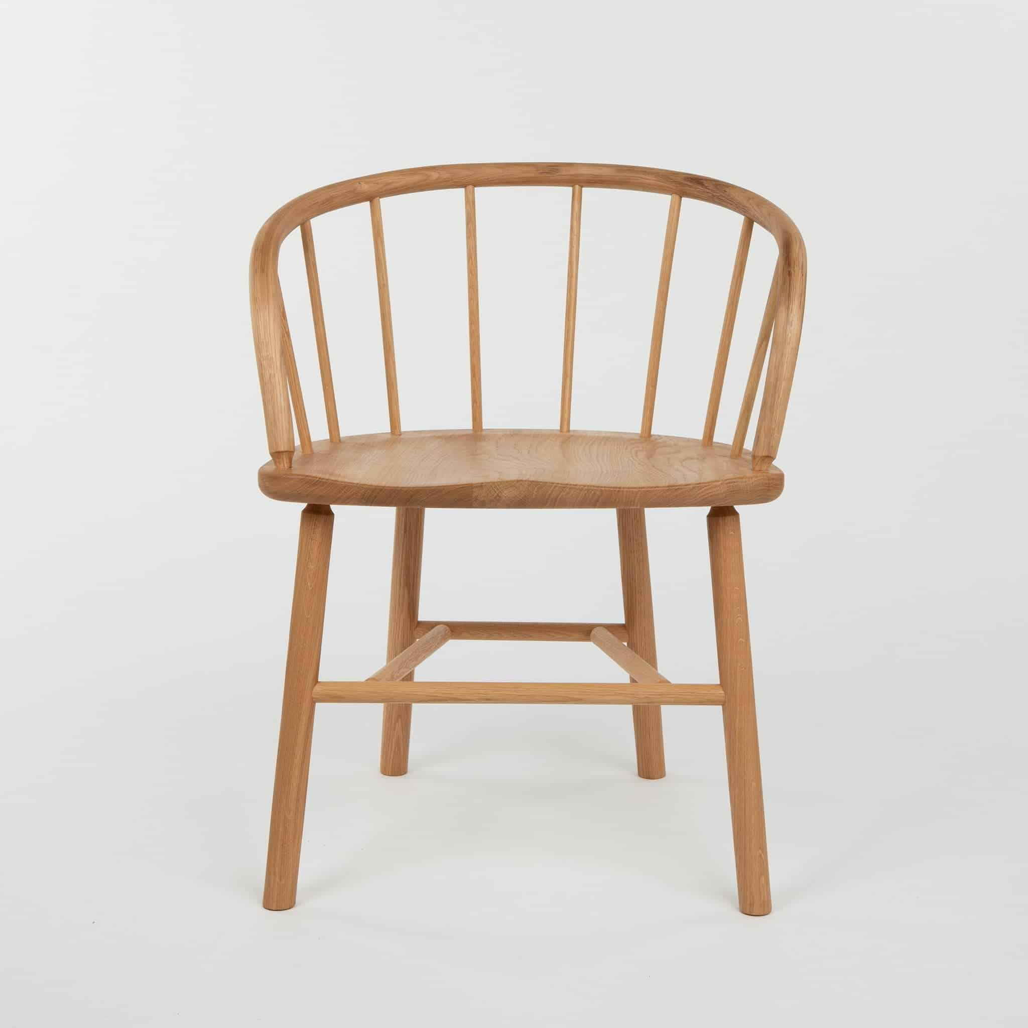 Oak Windsor-style chair by Another Country