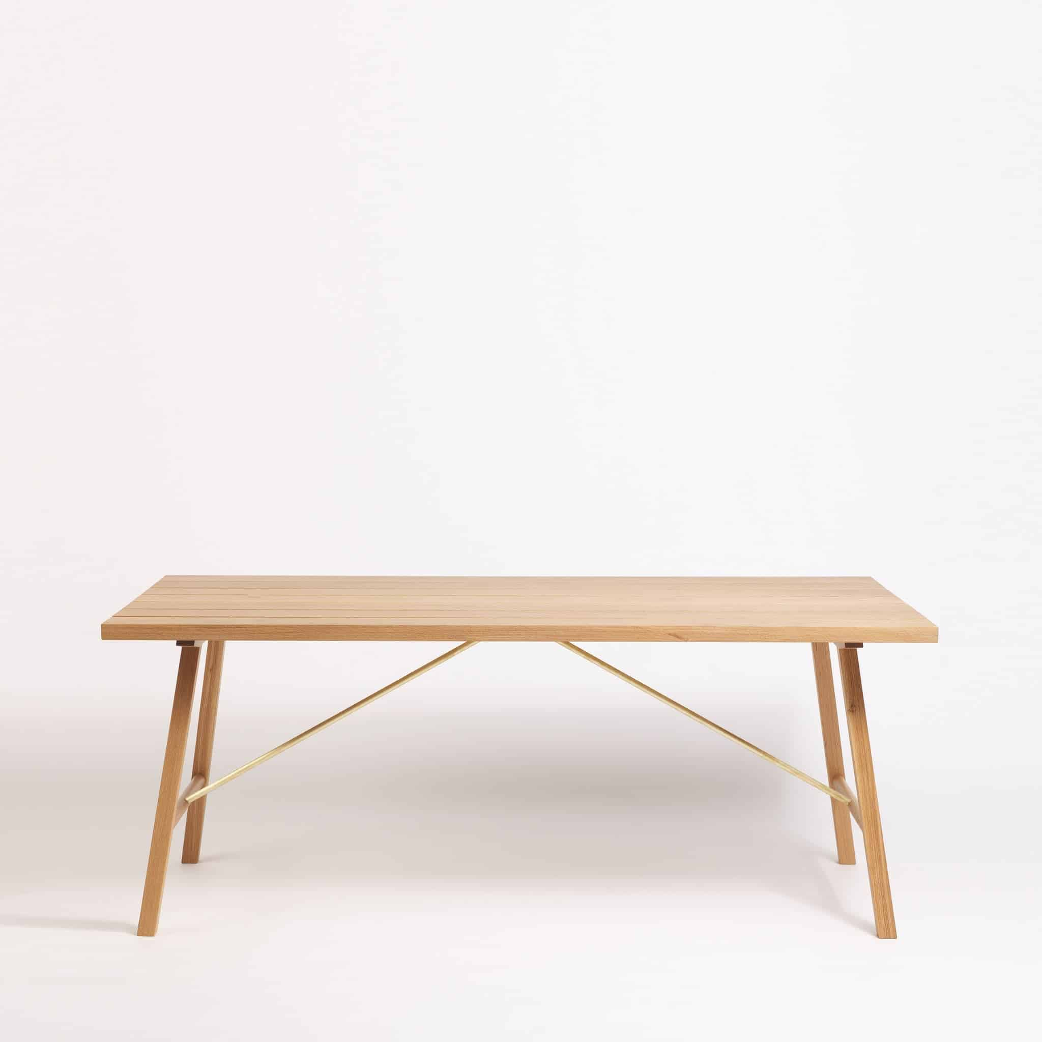 Solid Oak Outdoor Dining Table by Another Country