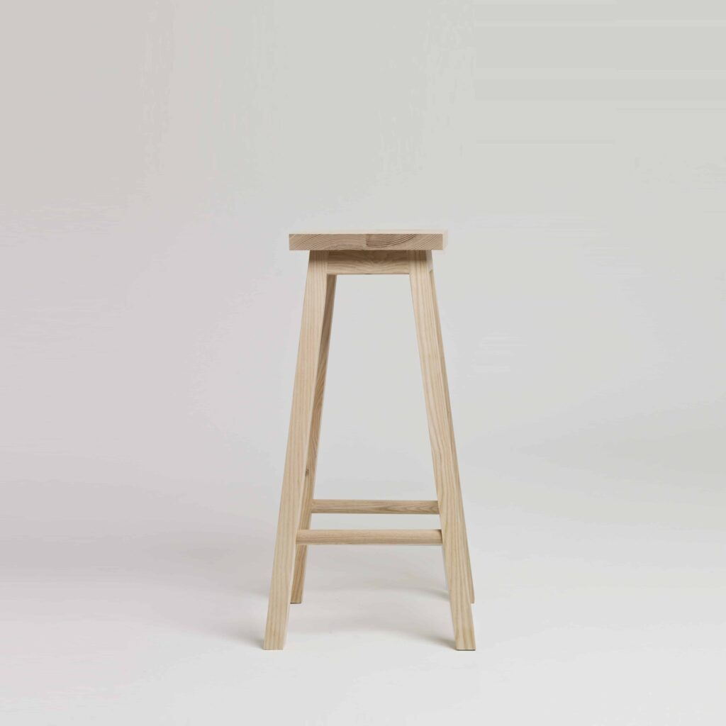 Bar stool two in ash