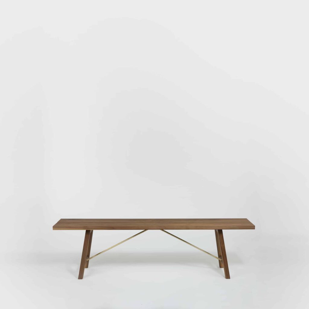 Walnut Bench by Another Country