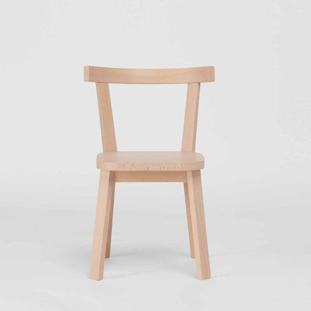 Light Wood Solid Beech Chair by Another Country