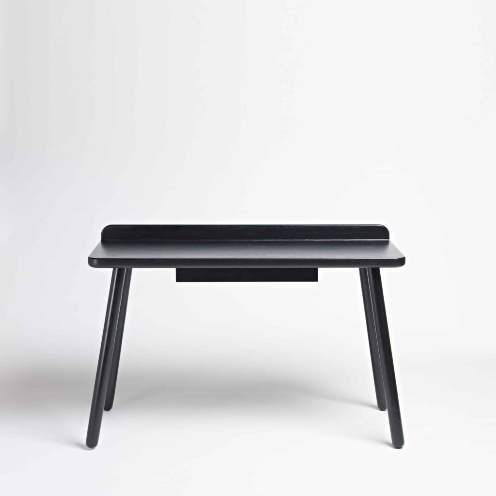 black desk one