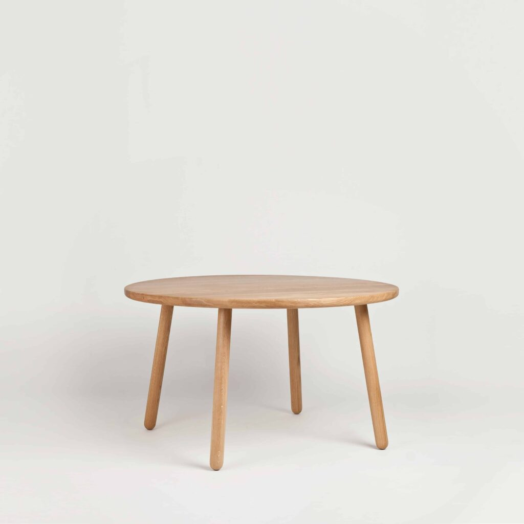 Round Oak Dining Table One by Another Country