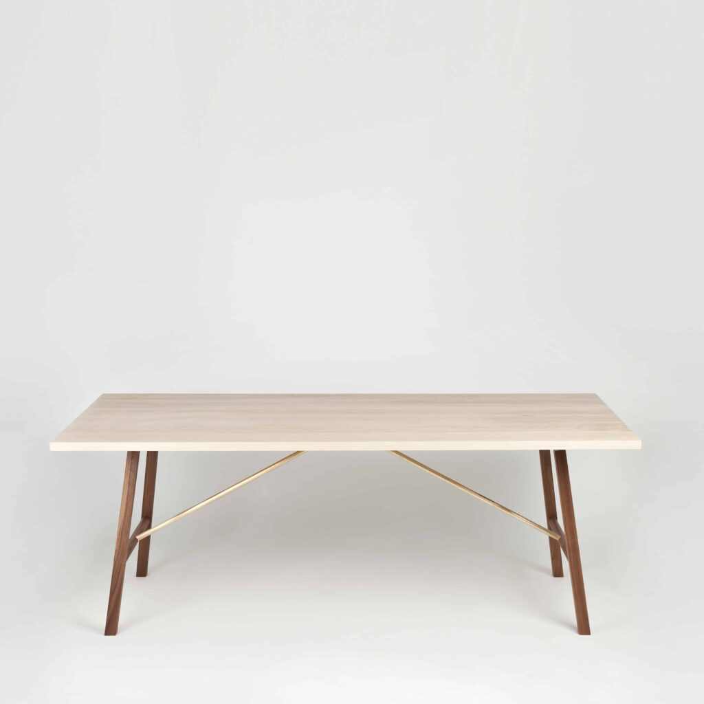 Ash Walnut Dining Table by Another Country