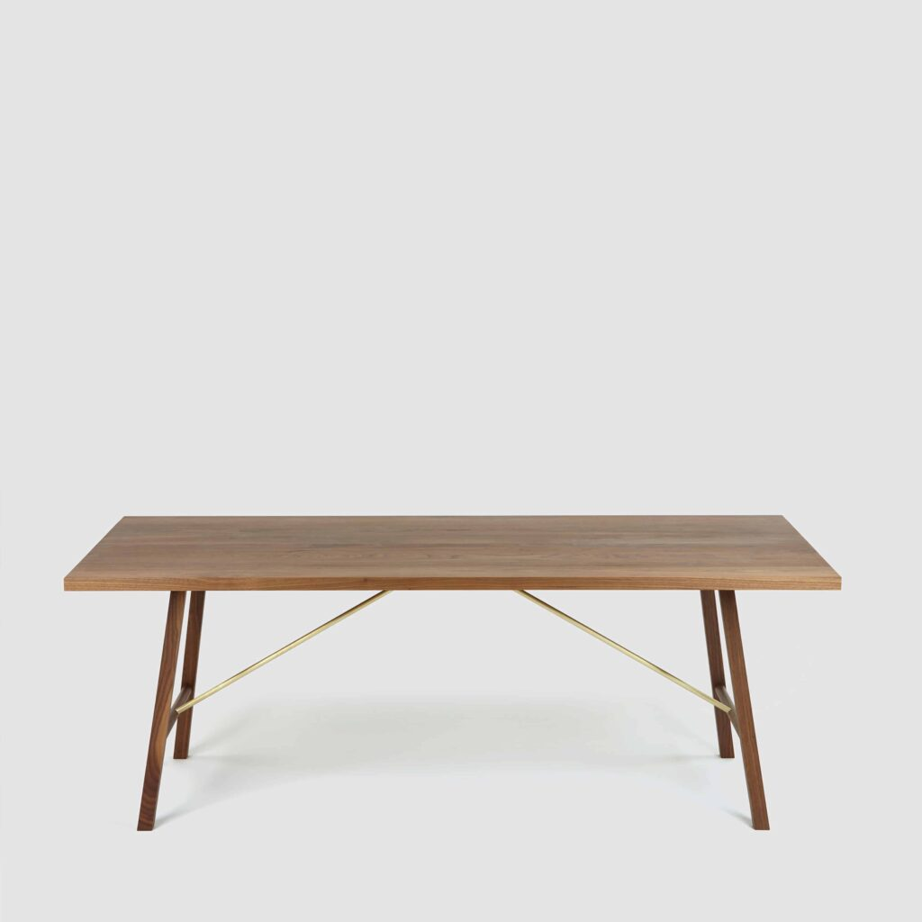Walnut Dining Table Two by Another Country