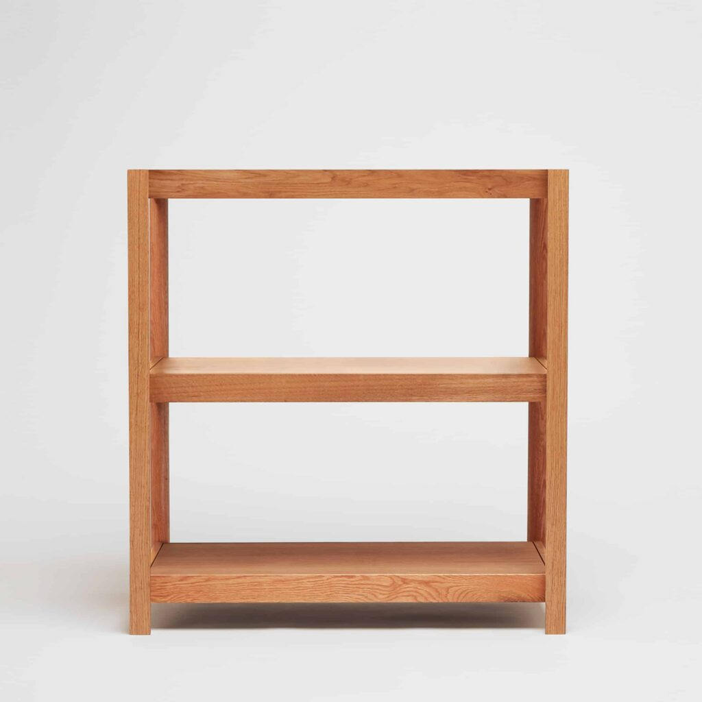 small oak shelving unit by another country