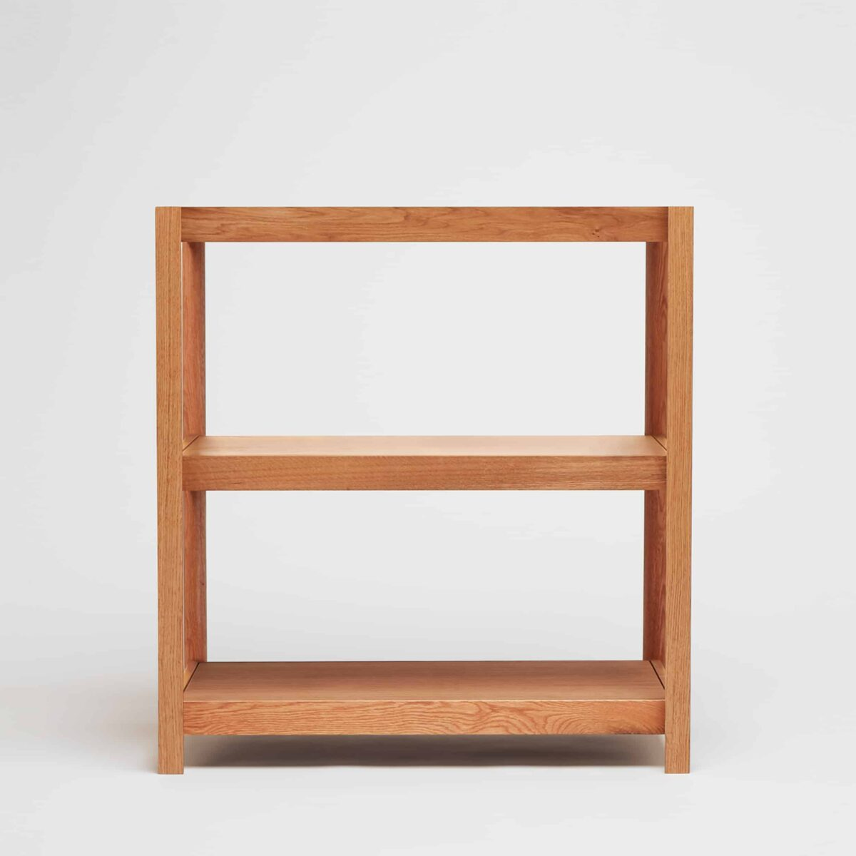 Fram Low Oak Shelving