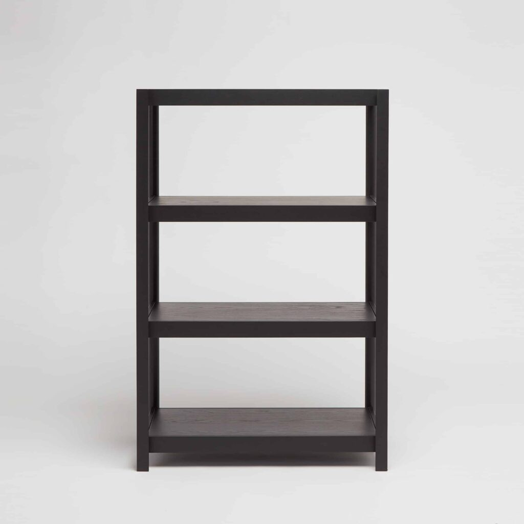 black shelving unit by another country