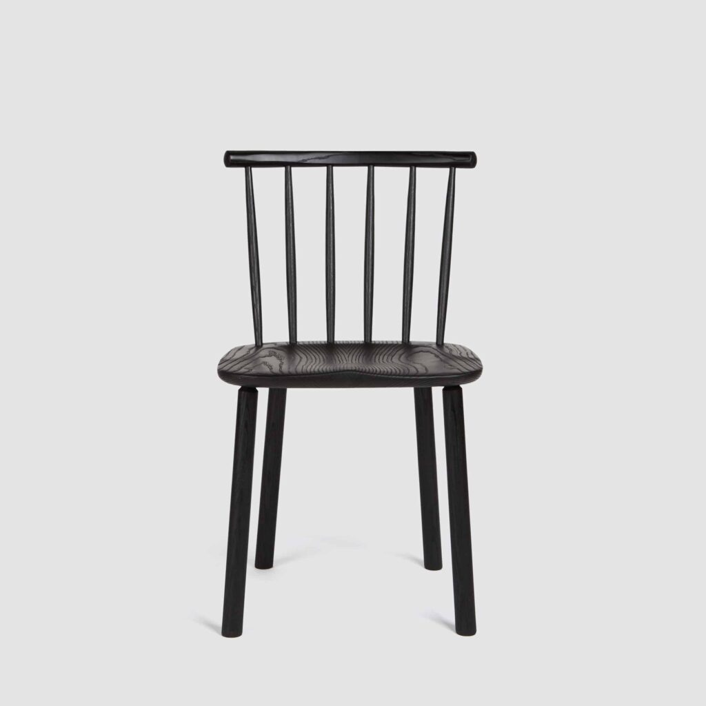 Black Hardy Side Chair by Another Country
